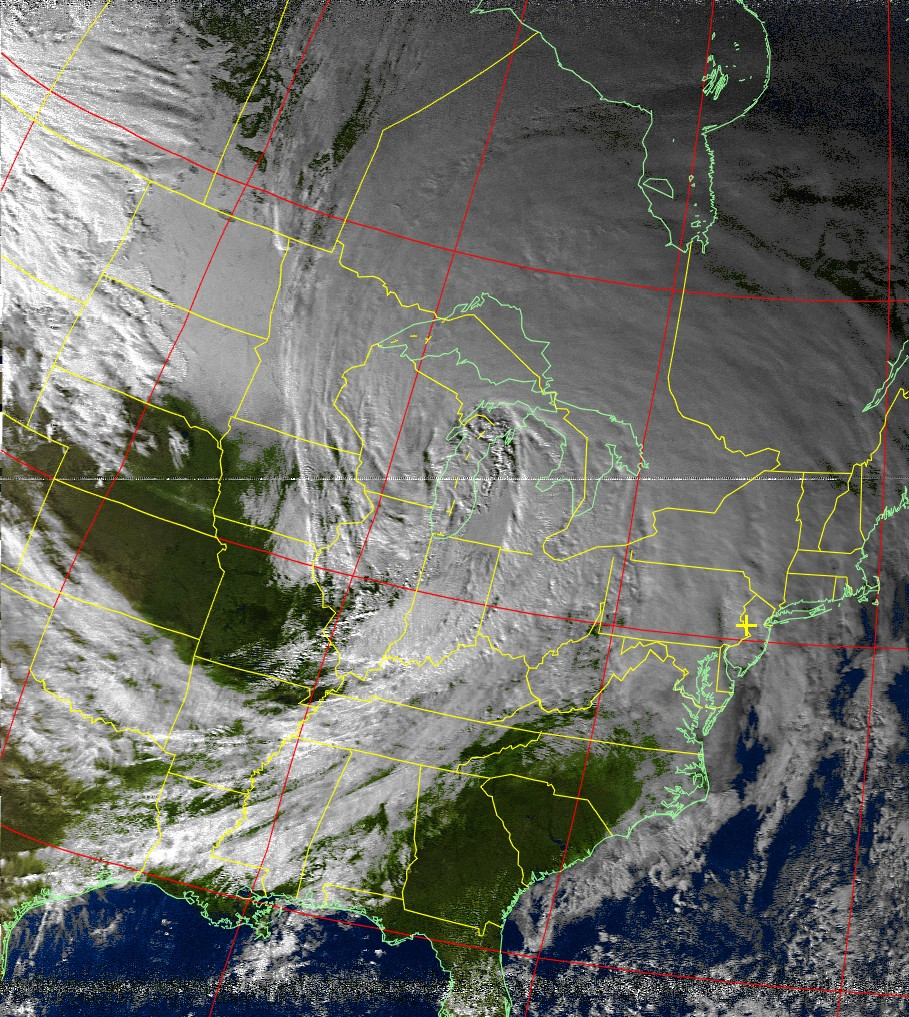 NOAA Weather Satellite Image Reception – Adam Zeloof