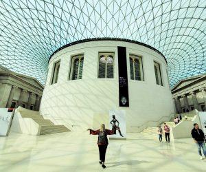 Main atrium of the British Museum